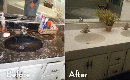 our state of the art technologies can easily refinish bathtubs sinks cabinets ceramic kitchen and wall tiles countertops and more - Kitchen Sink Refinishing